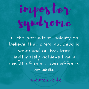 imposter syndrome's definition