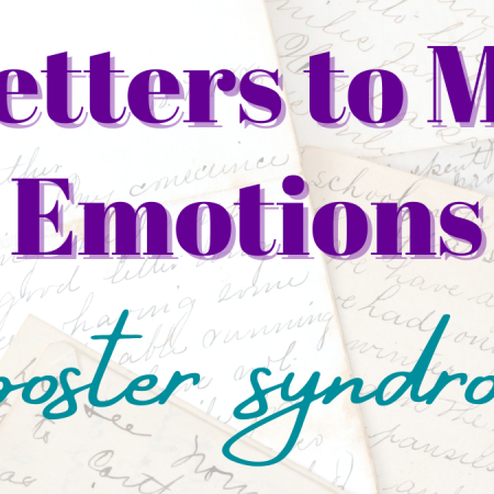 letters to my emotions, imposter syndrome